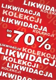 Plakat (PG165) Likwidacja do -70%