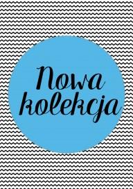 Plakat Nowa kolekcja blue (PG180)