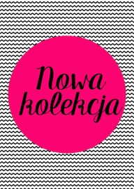 Plakat Nowa kolekcja rose (PG184)