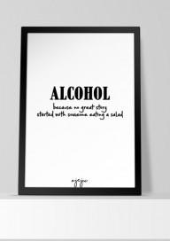 Plakat P20 - Alcohol ...