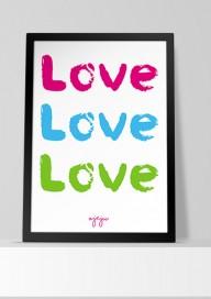 Plakat P47 - LOVE