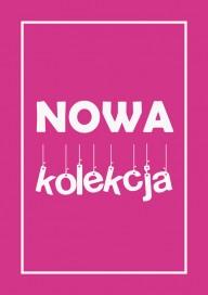 Plakat NOWA KOLEKCJA rose (PG206)