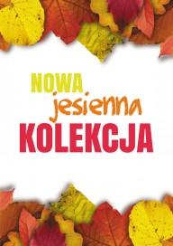 Plakat (PG216) Nowa jesienna kolekcja