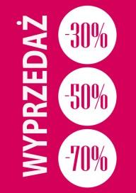 Plakat (PG217) Wyprzedaż -30% -50% -70%