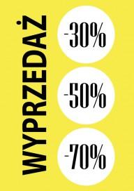 Plakat (PG218) Wyprzedaż -30% -50% -70%