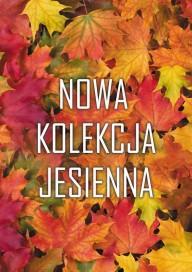 Plakat (PG222) Nowa kolekcja jesienna