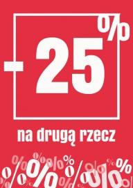 Plakat (PG231) -25% na drugą rzecz