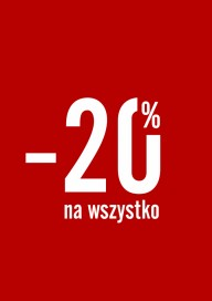 Plakat (PG248) -20% na wszystko