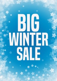 Plakat (PG252) Big winter sale