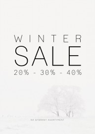 Plakat (PG255) Winter sale