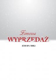 Plakat (PG263) Zimowa wyprzedaż