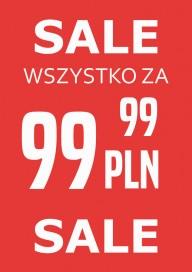 Plakat (PG035) Sale wszystko 99,99 PLN