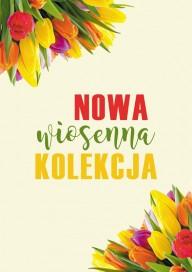 Plakat (PG052) Nowa wiosenna kolekcja