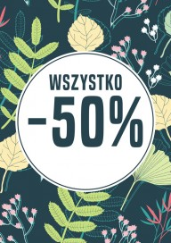 Plakat (PG077) Wszystko - 50%