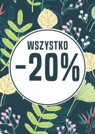 Plakat (PG079) Wszystko - 20%