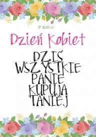 Plakat (PG100) Dzień Kobiet
