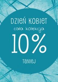 Plakat (PG103) Dzień Kobiet cała kolekcja 10% taniej