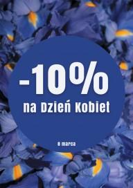 Plakat (PG104) -10% na Dzień Kobiet