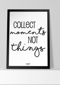 Plakat (P056) Collect moments