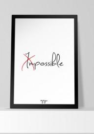 Plakat (P057) Impossible