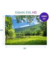 Wydruk zdjęcia 80x60cm. Zdjęcie, odbitka XXL