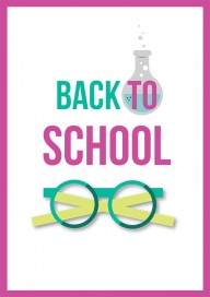 Plakat (PG147) Back to school