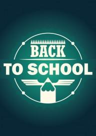 Plakat (PG153) Back to school