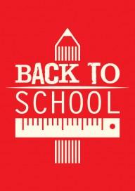 Plakat (PG154) Back to school