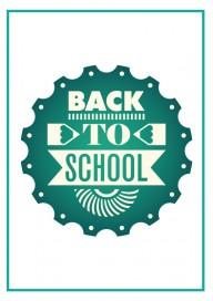 Plakat (PG155) Back to school