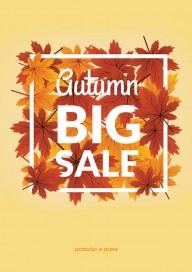Plakat (P183) Autumn big sale