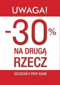 Plakat (PG185) -30% na drugą rzecz