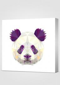 Obraz Geometryczna Panda