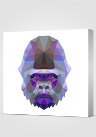 Obraz Geometryczny Goryl