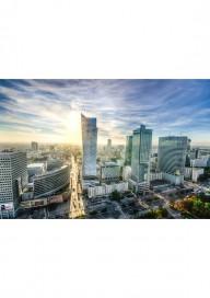 Obraz panorama Warszawy