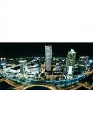 Obraz Warszawa nocą