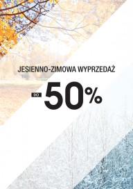 Plakat (PG282) Jesienno - zimowa wyprzedaż