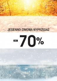 Plakat (PG283) Jesienno - zimowa wyprzedaż