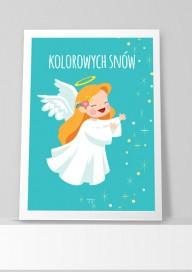 Plakat (P100) Kolorowych snów