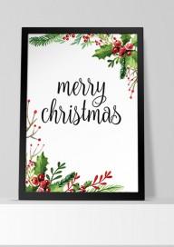 Plakat (PG103) Merry christmas