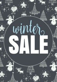 Plakat (PG296) Winter sale