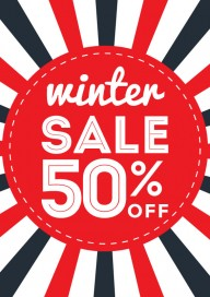 Plakat (PG002) Winter sale