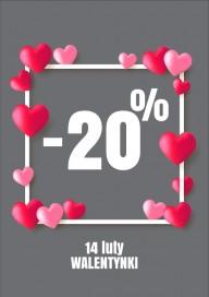 Plakat (PG003) Walentynki -20%