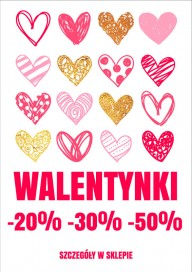 Plakat (PG004) Walentynki -20%-30%-50%