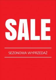Plakat (PG006) Sale sezonowa wyprzedaż