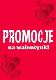 Plakat (PG010) Promocje na walentynki