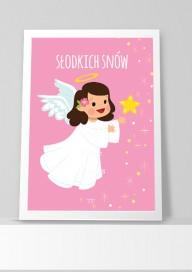 Plakat (P106) Słodkich snów