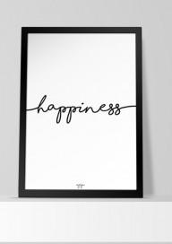 PLakat (P012) Happiness
