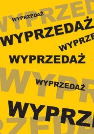 Plakat (PG59) Wyprzedaż yellow