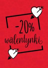 Plakat (PG020) -20% na Walntynki