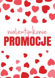 Plakat (PG021) Walentynkowe promocje